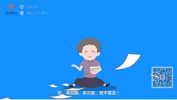政府宣传片制作 行政服务中心事前咨询指南flash宣传动画
